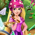 Rapunzel's Bicycle Games : Oh no! Rapunzel crashed her bike, will she be able to fix it ...
