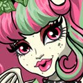Party Ghouls Rochelle Goyle Games : Monster High ghouls are all dressed up for a party with beas ...