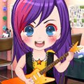 Little Rocker Games : Our cute rock star diva is getting ready to go up  ...