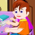 Baby Rons School Days Games : Ron is going tomorrow to school and you need to help him. Prepare Rons school ba ...