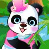 Cute Panda Games : The little panda is very cute. She loves to take photos with ...