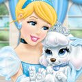 Princess Palace Pets Pumpkin Dash Games : Help Cinderella's pet puppy Pumpkin complete the obstacle co ...