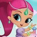 Genie Palace Divine Games : In this game you can play genie dress up with Shimmer and Shine! Dress up your f ...