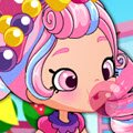 Shopkins Shoppies Bubbleisha Games : Like a kid in a candy store, Bubbleisha only has one speed,  ...