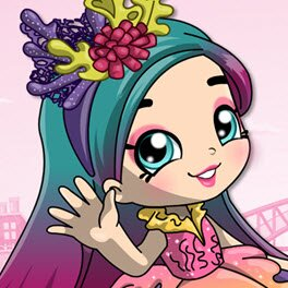 Shopkins Shoppies Coralee Dress Up Game
