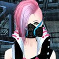 Cyberpunk Fashion Games : Dress up an edgy cyberpunk queen who looks like sh ...