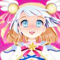 Magical Girl Bonnie Games : Fantastic manga and anime fashion game in which you will dre ...