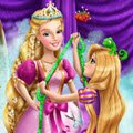 Rapunzel Magic Tailor Games : Dressmaking can be a challenge, but our curious Rapunzel will always have fun do ...