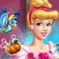 Cinderella Tailor Ball Dress Games : The Fairy Godmother has an important task to complete and th ...