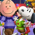 Peanuts Team Christmas Games : The Peanuts gang has a super fun dress up session with winter accents prepared f ...