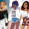 Urban Chic Deluxe Games : The game lets you create your own chic lady, with her finger ...