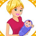 Sherley's Perfect Baby Games : Sherley is a beautiful young pregnant mother and she is prep ...