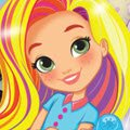 Smiling and Styling with Sunny Games : Preschoolers can help Sunny, Rox, and Blair at their salon b ...