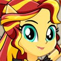 Dance Magic Sunset Shimmer Games