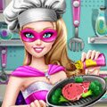 Super Barbie Real Cooking Games : Cook a delicious meal with your favorite superhero, Super Ba ...