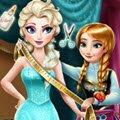 Anna Tailor for Elsa Games : Anna has a new hobby, dress making, and she wants to make a  ...