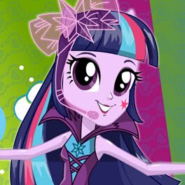 Jogando My Little Pony Equestria Girls Twilight Sparkle Rainbooms Style