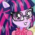 Twilight Sparkle School Spirit Style Games : Meet Crystal Prep Twilight Sparkle, the Twilight Sparkle who ...