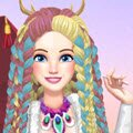 Burning Man Hairstyles Games : Our girl is so interested in attending the Burning Man Festi ...