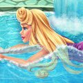 Sleeping Beauty Swimming Pool Games : Tired of the cold weather the Sleeping Beauty went on vacati ...