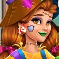 Victoria's Halloween Scarecrow Costume Games : Halloween is on its way and there is a new girl in ...