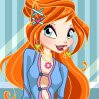 Winx Bloom MakeOver Games : Bloom is getting ready to meet her friends at the  ...