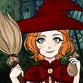 Witch's Apprentice Creator Games : She is not a real witch, yet! But she will be soon and it is ...