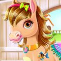 Baby Horse Caring Games : We all need a little spoil from time to time and now this li ...