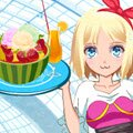 Summer Desserts Lover Games : This kawaii anime girl is craving a summer dessert, but she needs to put some cl ...
