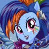 Rainbow Dash Rocking Hairstyle Games : Are you ready to make Punk Rock with Rainbow Dash? ...