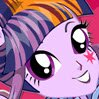 Twilight Sparkle Rocking Hairstyle Games : Are you ready to make Punk Rock with Twilight Sparkle? Twilight Sparkle needs to ...