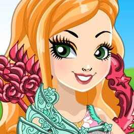 Ever After High Archery Club Ashlynn Ella Dress Up Game