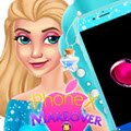 iPhone X Makeover Games : Elsa just bought herself a new iPhone and while playing with ...
