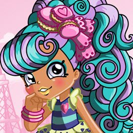 Shopkins Shoppies Macy Macaron Dress Up Game
